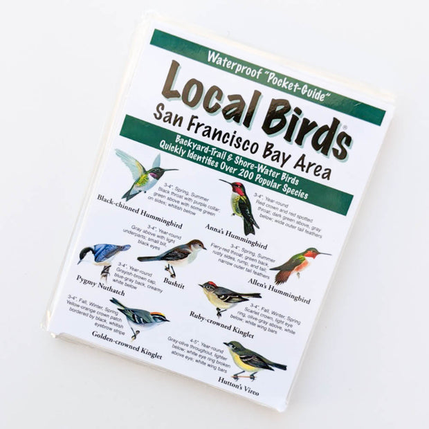 Local Birds Pocket-Guide: San Francisco Bay Area