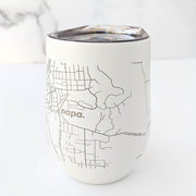 Map of Napa Insulated Wine Tumbler