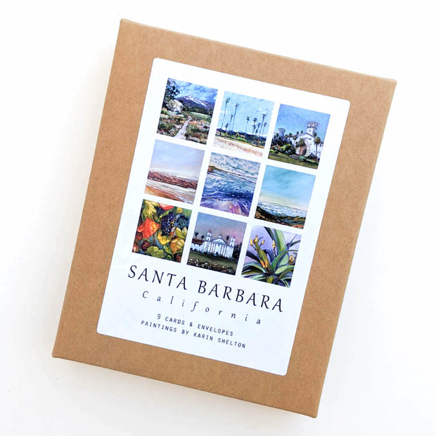 Santa Barbara Images Note Cards
