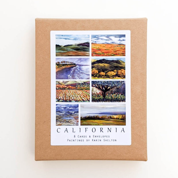 California Images Note Cards
