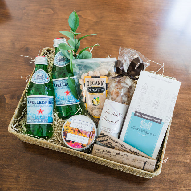 Santa Barbara Seagrass Welcome Box Local Delivery Gifts - The Santa Barbara Company, The Santa Barbara Company - 1