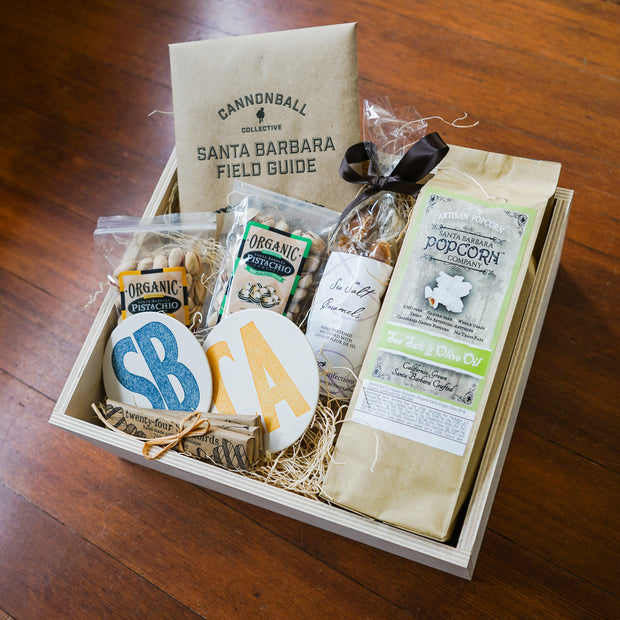 Create Your Own Wood Gift Box Gifts - Assorted/Gifts, The Santa Barbara Company - 3