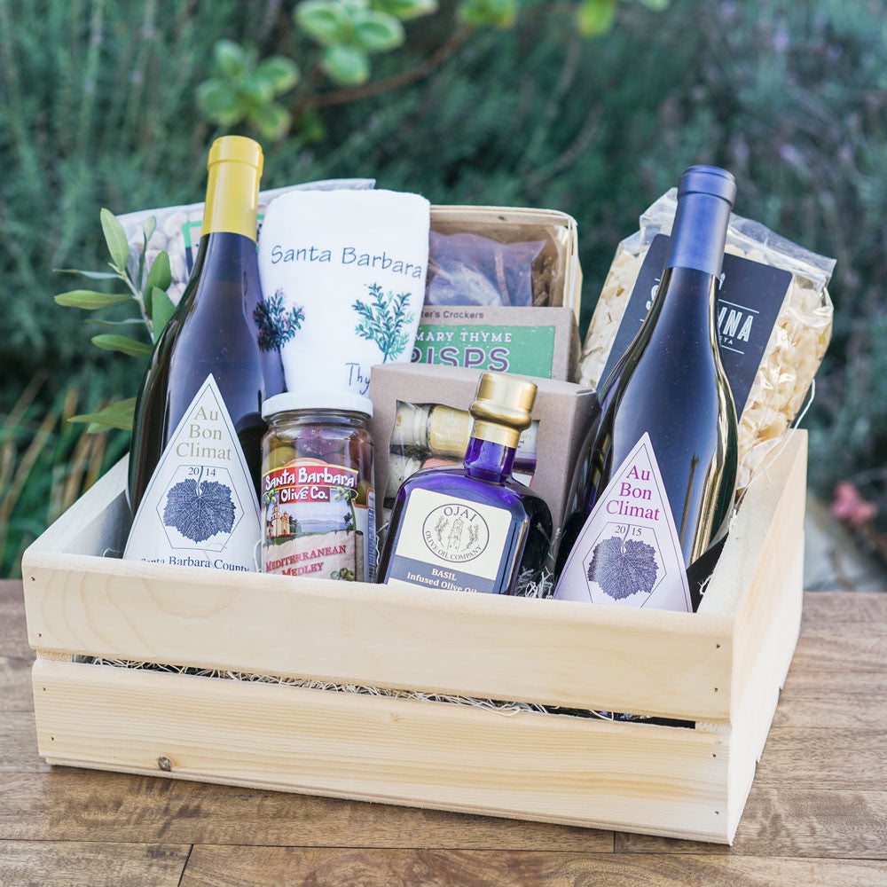 The Wine Cook Gift Crate Gift Sets and Boxes - Assorted/Gifts, The Santa Barbara Company - 1