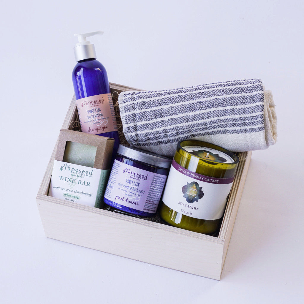 Wine Country Spa Gift Box Gift Sets and Boxes - Assorted/Gifts, The Santa Barbara Company