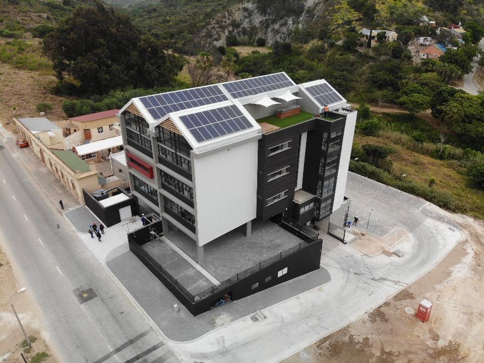Top solar technology used for Algoa FM green building