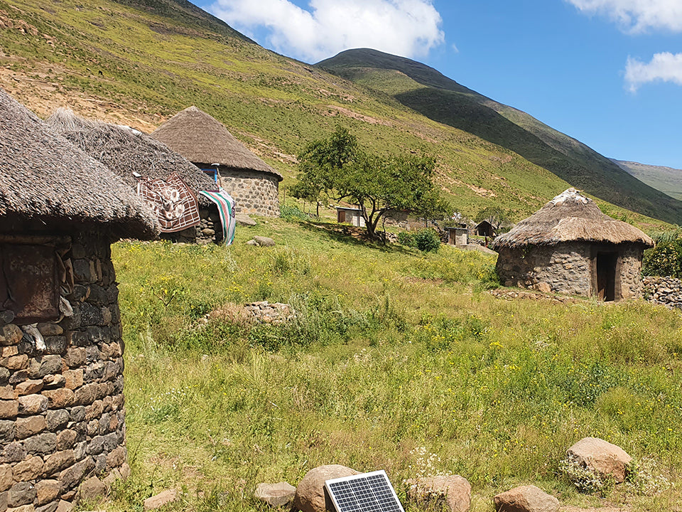 Rubicon lights up rural Lesotho community