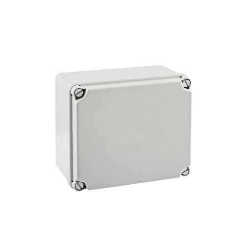 IDE Enclosure, Plastic 156x180x100mm Grey, Opaque Lid IP67 - Rubicon Partner Portal