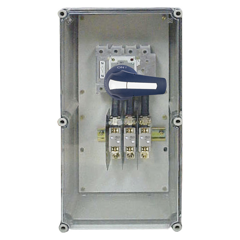 Telergon 315A 3P + N Switch In Metal Enclosure S5000, IP64 - Rubicon Partner Portal
