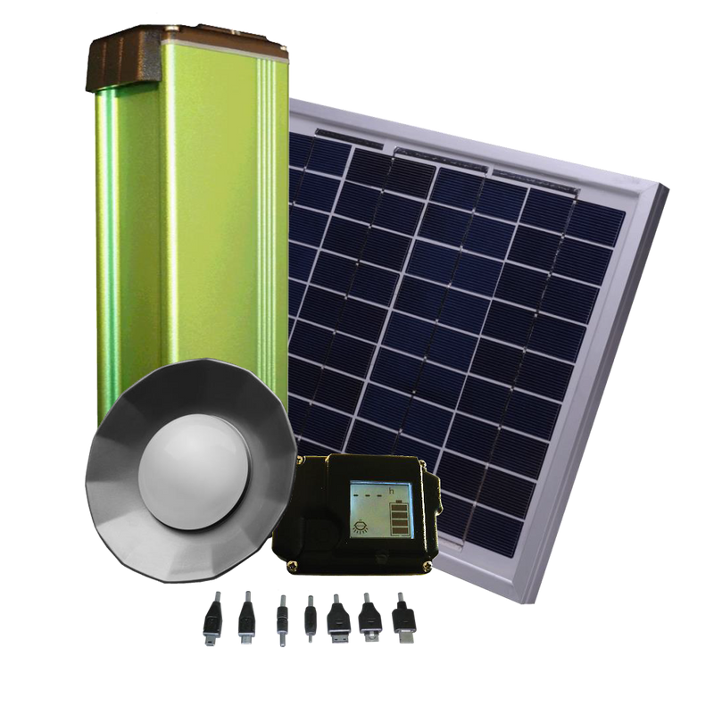 Zimpertec Home Solar Kit + 35W Solar Panel - Rubicon Partner Portal