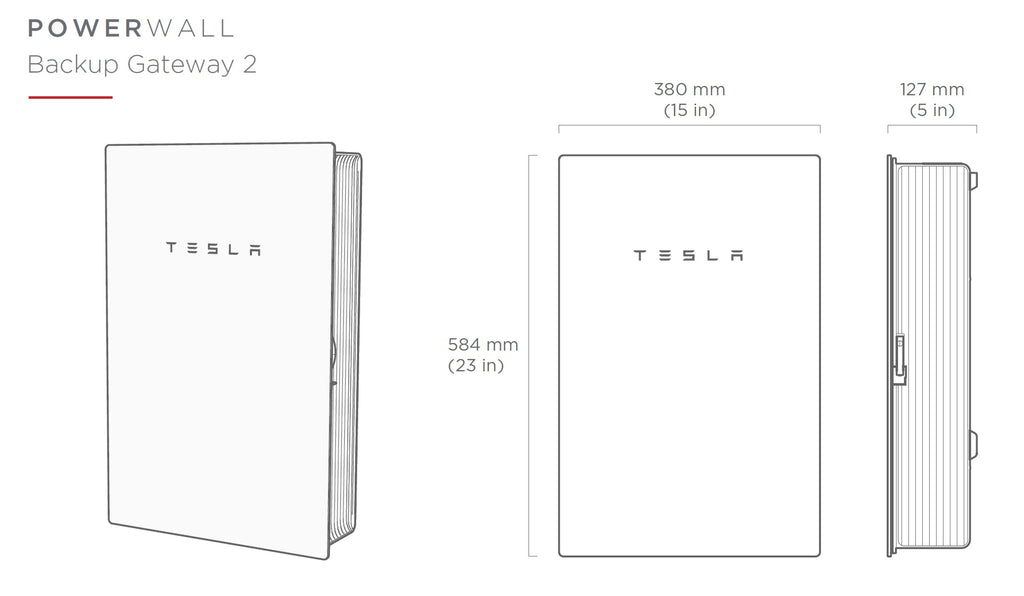 Tesla PowerWall 2 gateway - Rubicon Partner Portal