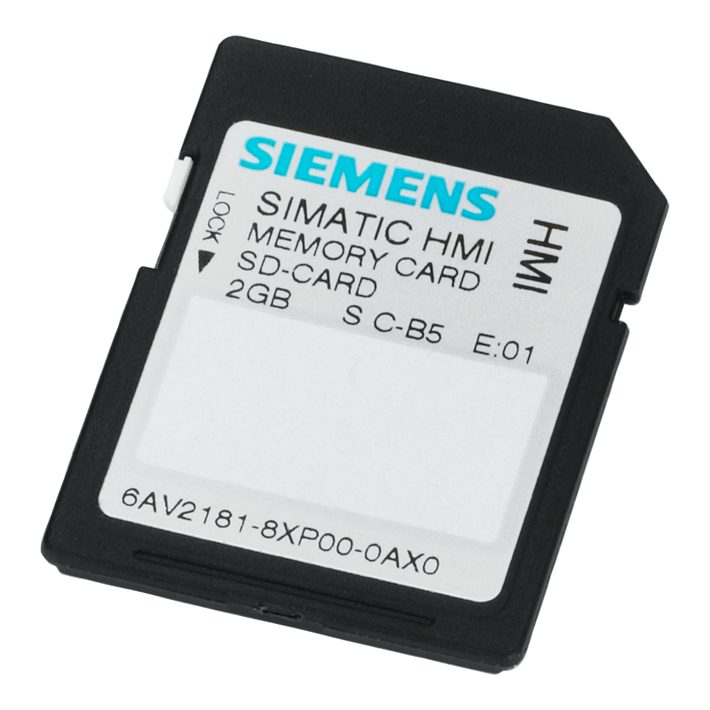 Siemens SIMATIC SD Memory Card 2 GB - Rubicon Partner Portal