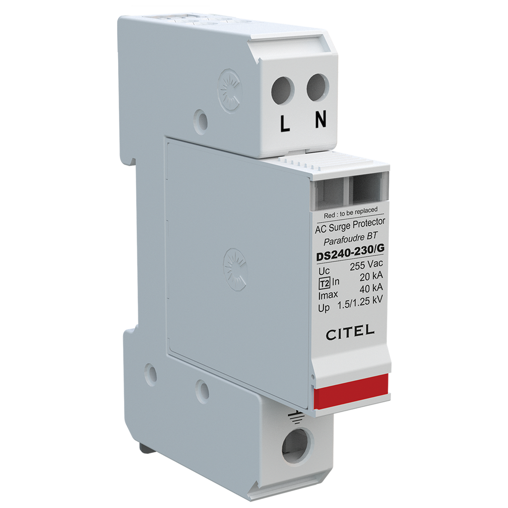 Citel DS240S-230/G, 230V AC Type II SPD - Rubicon Partner Portal