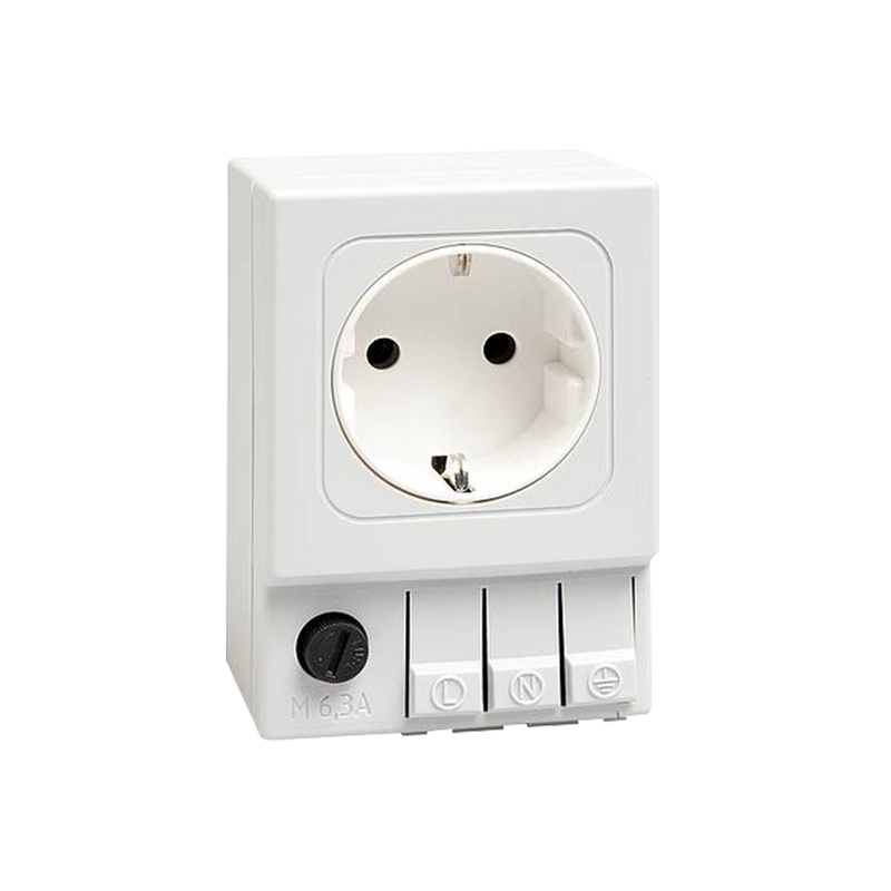 Stego Plug Socket, 16A, Type F - German Schuko - Rubicon Partner Portal
