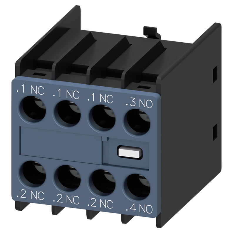 Siemens Auxiliary switch on the front, 1 NO + 3 NC - Rubicon Partner Portal