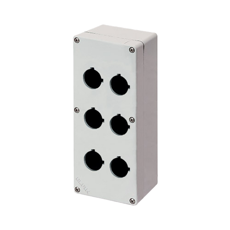 Elfin Enclosure 6 Hole Push Button 92X205X70 - Rubicon Partner Portal
