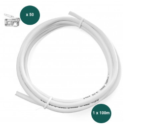 Smappee Bus Cable Set – 100m – 50 RJ10 - Rubicon Partner Portal
