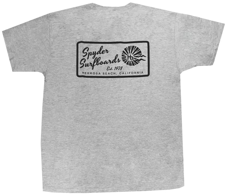 SPYDER SURFBOARDS HB LONG YOUTH TEE - Spyder Surf