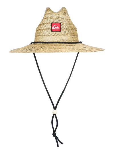 QUIKSILVER INC. PIERSIDE STRAW YOUTH HAT