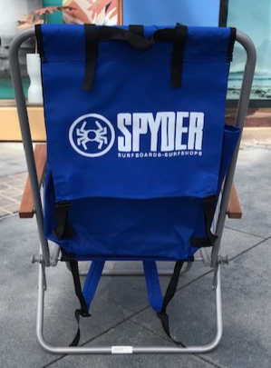 Spyder Surf Beach Chair Black
