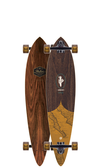 "ARBOR SKATEBOARDS FISH 37"" GS"