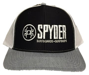 SPYDER SURFBOARDS CORP LOGO EMBROIDERED TRUCKER HAT 112-ACCLE