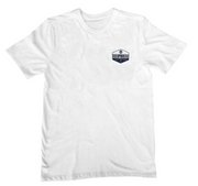 JARVIS DESIGNS, SPYDER SURFBOARDS SHOP HEX TEE <p>MTJJARSHPHEXTEE</p>, [description] - Spyder Surf