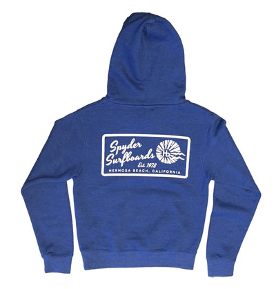 SPYDER SURFBOARDS HB LONG YOUTH HOODED PULLOVER SWEATSHIRT