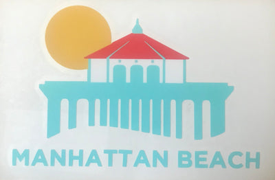 Manhattan Beach Pier Sticker