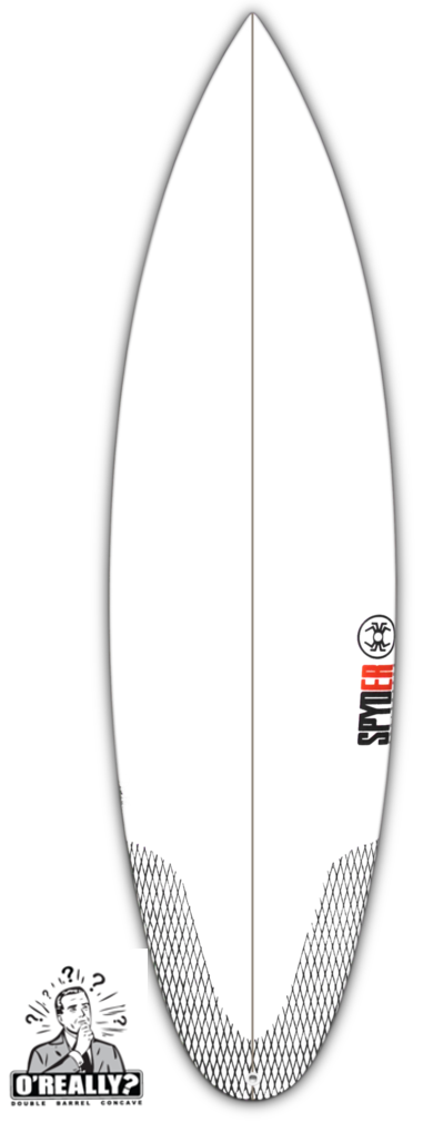 "SPYDER SURFBOARDS, O'Really 6'1"", [description] - Spyder Surf"