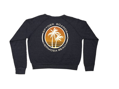 SPYDER SURFBOARDS PALMDAYS CROP SWEATER