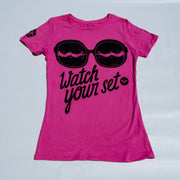 "B4BC, B4BC X ROXY ""WATCH YOUR SET"" S/S TEE, [description] - Spyder Surf"