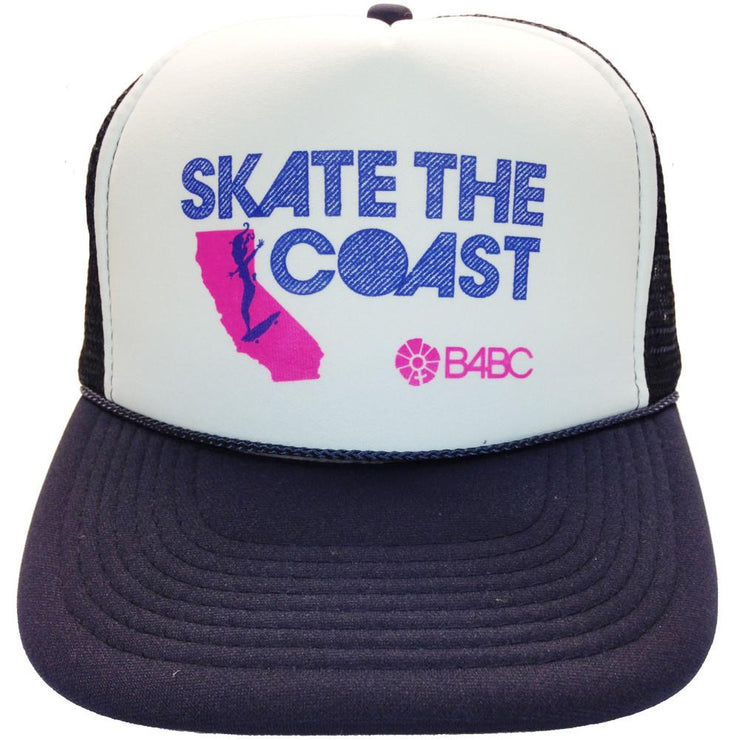 B4BC, B4BC SKATE THE COAST HAT, [description] - Spyder Surf
