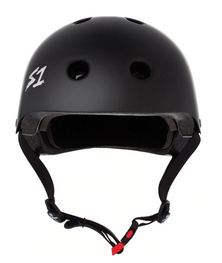 S1 Mini Lifer Helmet Black - Spyder Surf