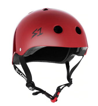 S1 Mini Lifer Helmet Blood Red - Spyder Surf