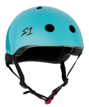 S1 Mini Lifer Helmet Lagoon Gloss - Spyder Surf
