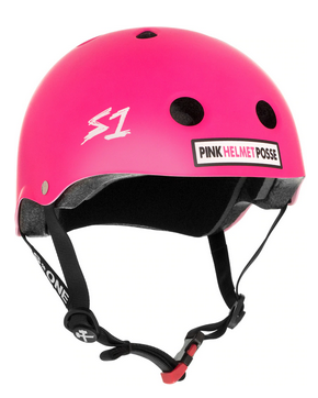 S1 Mini Lifer Helmet Pink Helmet Posse - Spyder Surf