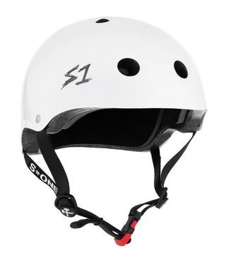 S1 Mini Lifer Helmet White Gloss - Spyder Surf