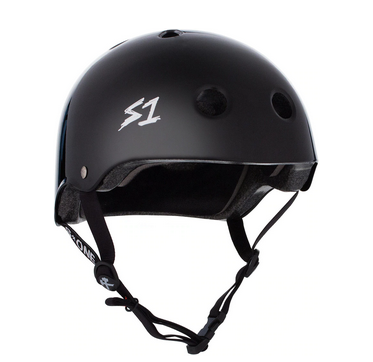S1 Lifer Helmet Black Gloss - Spyder Surf