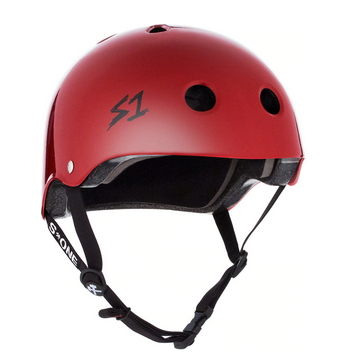 S1 Lifer Helmet Blood Red Gloss - Spyder Surf