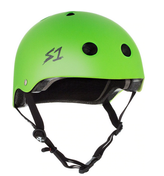 S1 Lifer Helmet Bright Green Matte - Spyder Surf
