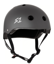 S1 Lifer Helmet Dark Grey Matte - Spyder Surf
