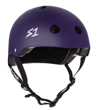 S1 Lifer Helmet Purple Matte - Spyder Surf