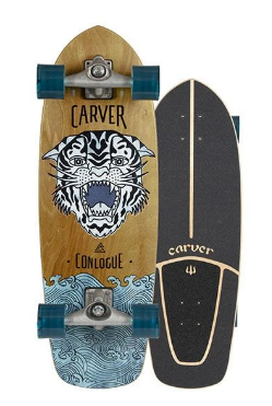 "Carver 29.5"" Conlogue Sea Tiger Surfskate Complete CX"