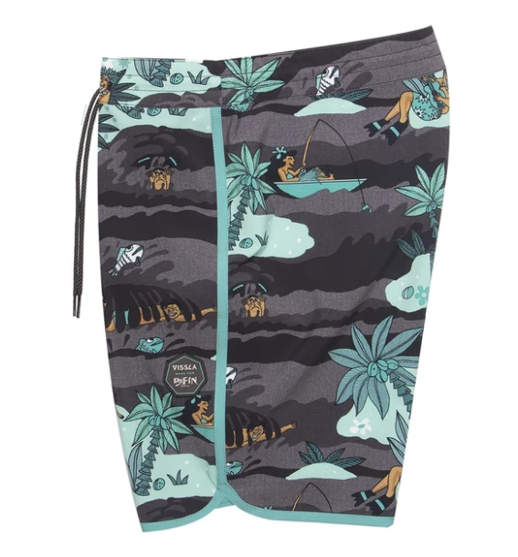 Vissla Da Fin Point Boardshort - Spyder Surf