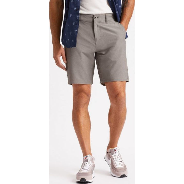 Toil LTD Crossover Short - Heather Grey