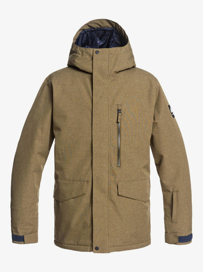 QUIKSILVER MISSION SOLID JACKET EQYTJ03266