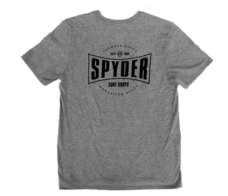 JARVIS DESIGNS, SPYDER SURFBOARDS SPYDER SURF EVERLAST T-SHIRT <p>JARMTJEVERLAST</p>, [description] - Spyder Surf