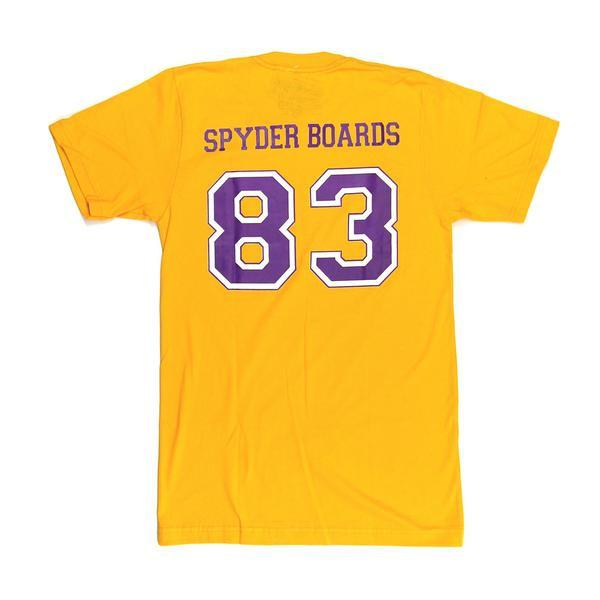 JARVIS DESIGNS, SPYDER SURFBOARDS LAKERS S/S T <p>LAKERS S/S T</p>, [description] - Spyder Surf