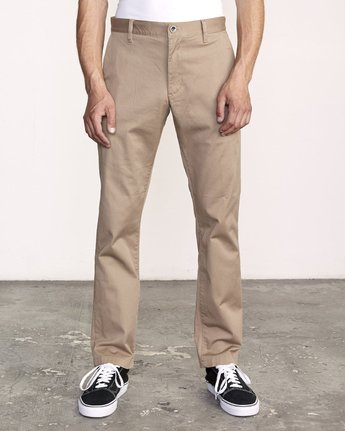 RVCA THE WEEKEND STRETCH PANTS M314VRWS