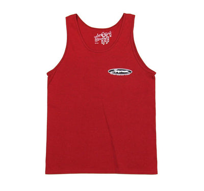 JARVIS DESIGNS, SPYDER SURFBOARDS CORP FLAG TANK <p>MTJCFT</p>, [description] - Spyder Surf